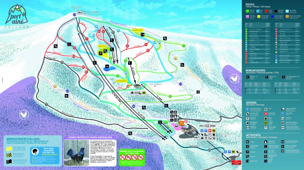 portaine estacio d'esqui de lleida